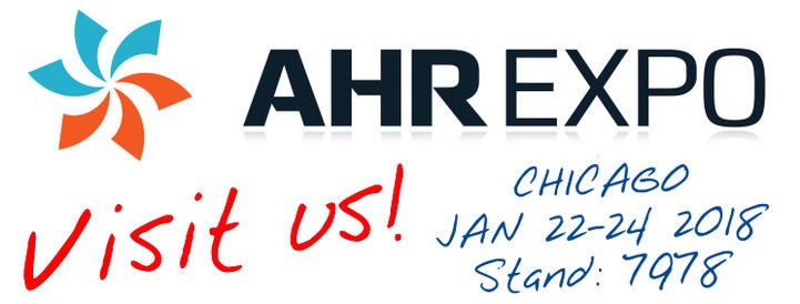 Meet us at AHR Chicago 2018